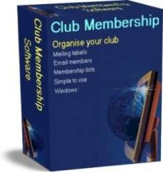 Click to view Club Membership Software 2.0 screenshot